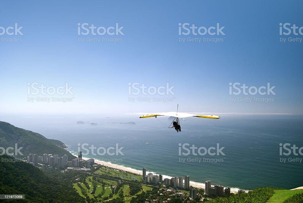 Vuelo libre en Rio de Janeiro - foto de stock