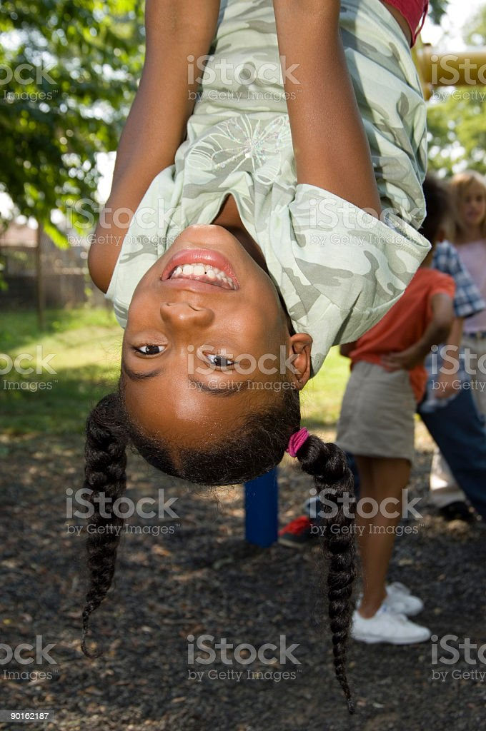hanging around royalty-free stock photo