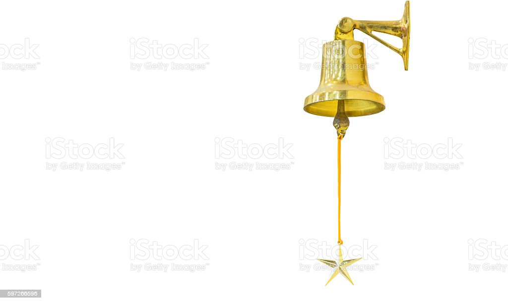 hanging bell royalty-free stock photo