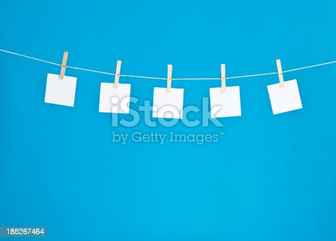 hanging blank note pads