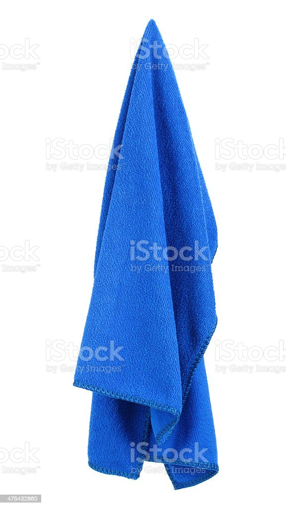 hanging towel. Fine Hanging Hanging Blue And Clean Towel Stock Photo For Towel