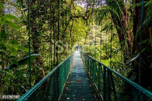 istock Hanging Bridges in Cloudforest - Costa Rica 511787182