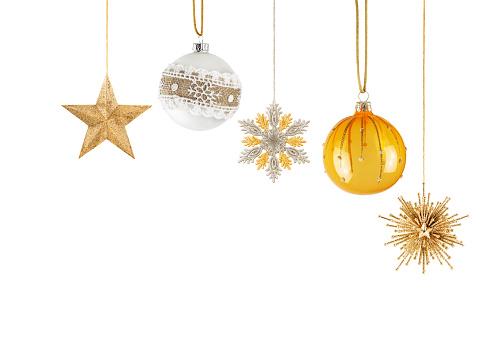 Hanging Christmas Ornaments