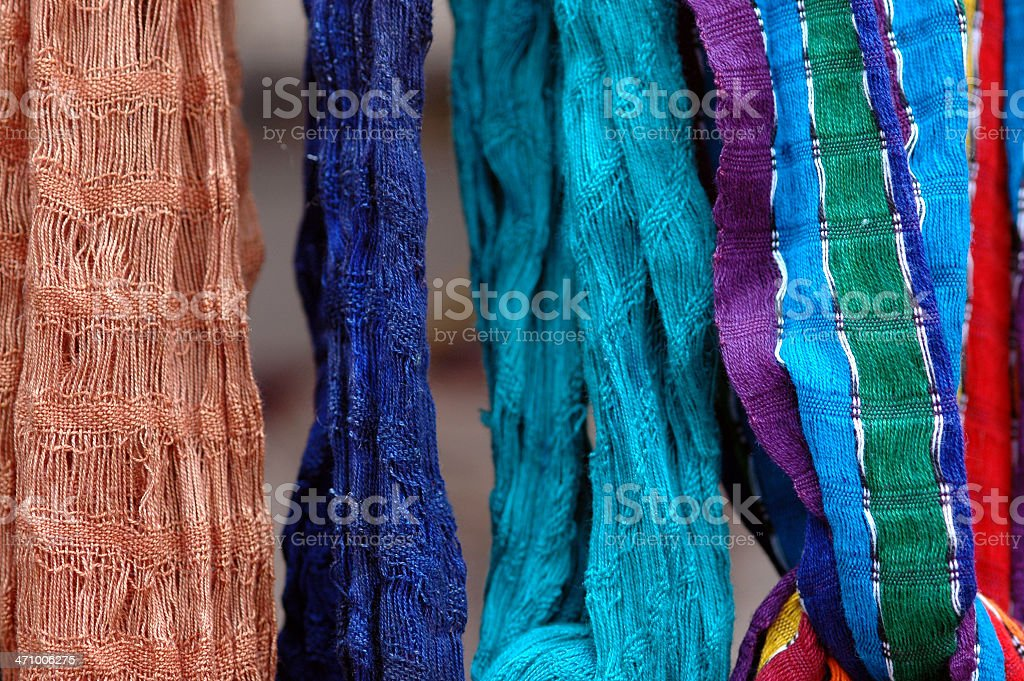 Hanging cloth royalty-free stock photo