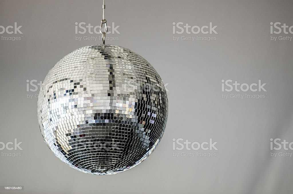 Hanging Disco Ball stock photo