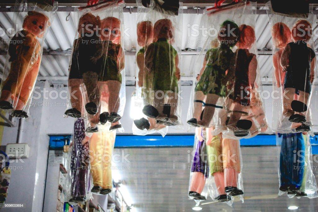 Hanging Puppen – Foto