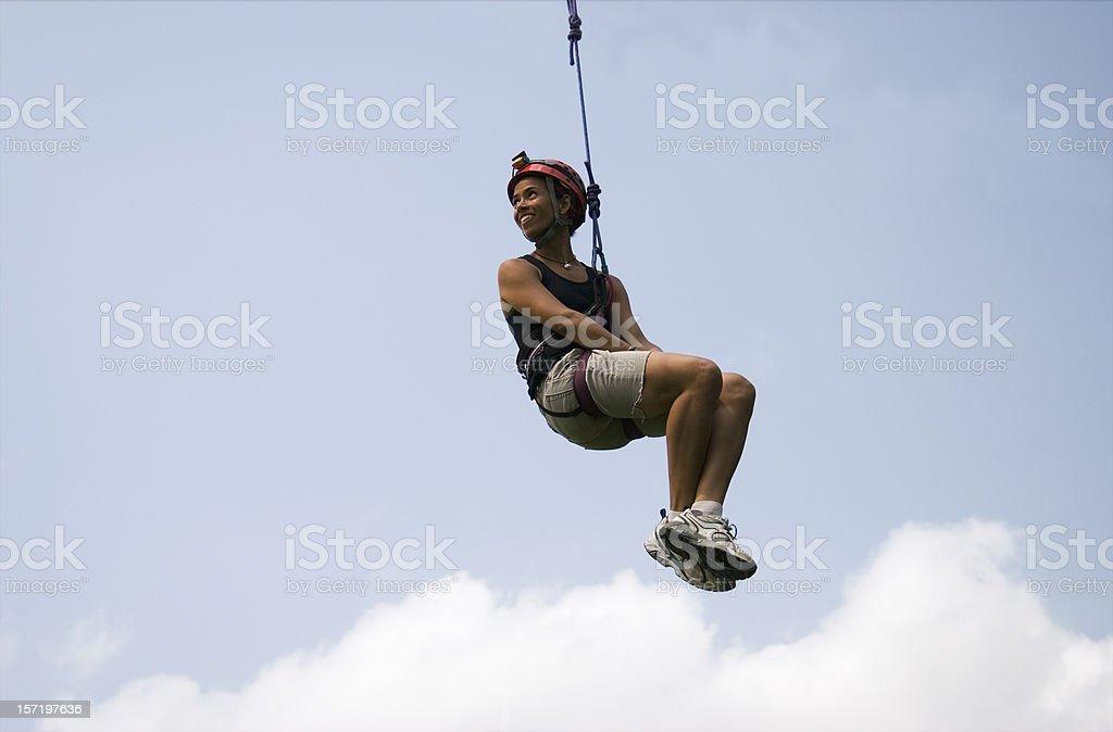 Hanging Girl royalty-free stock photo