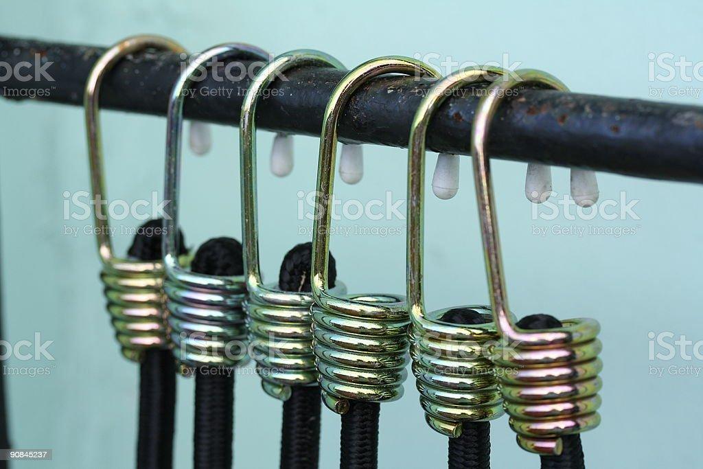 Hanging Hooks stock photo