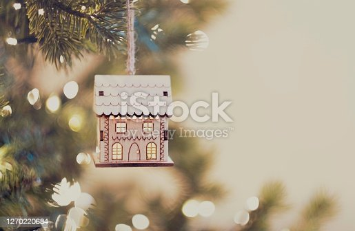 istock Hanging House Ornament 1270220684