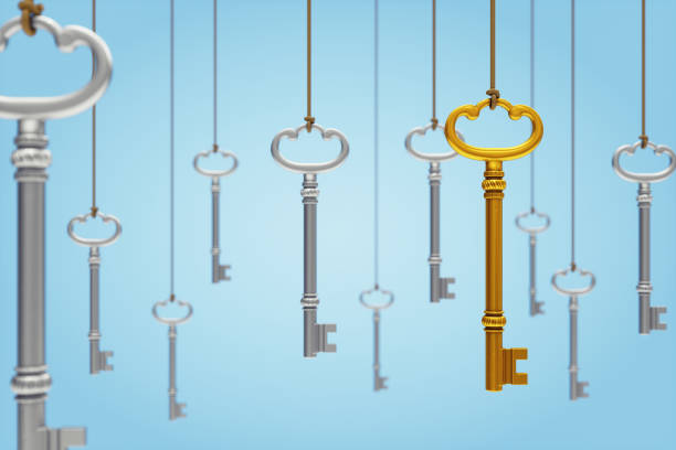 hanging keys - key stock pictures, royalty-free photos & images