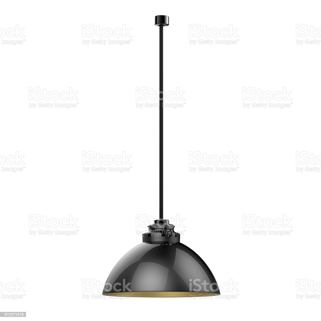 Lampe suspendue photo libre de droits