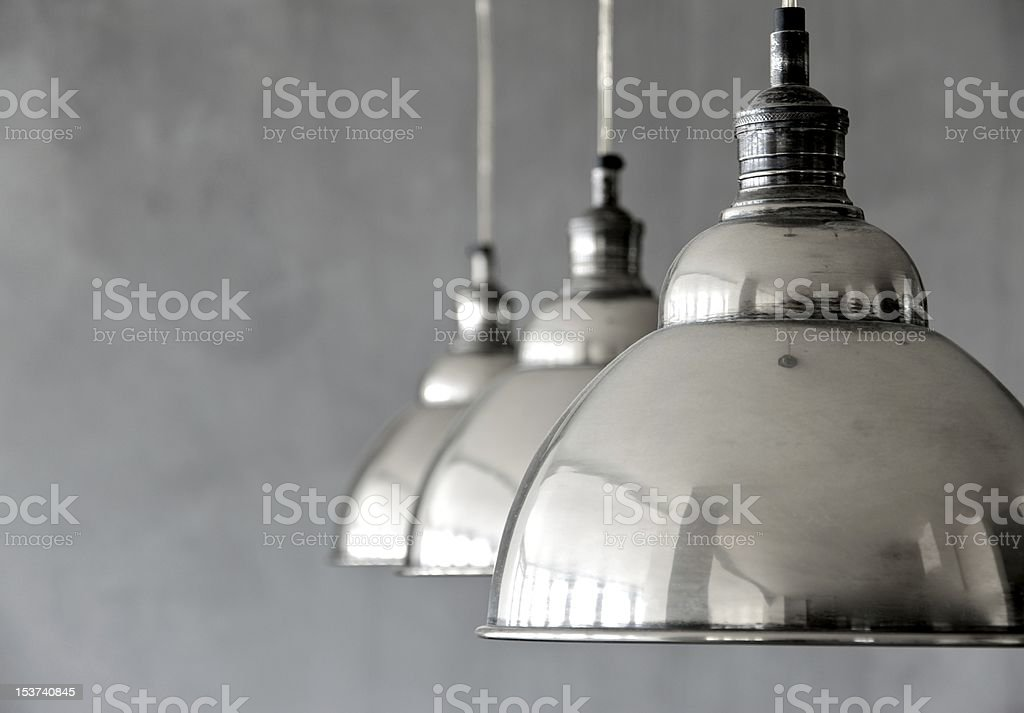 Hanging Lamps royalty-free stock photo