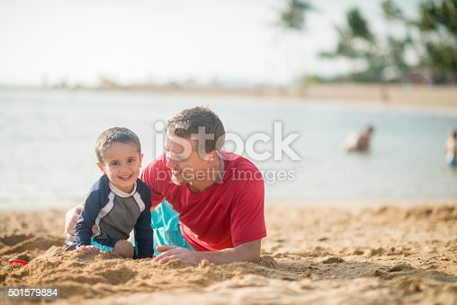 605742160 istock photo Hanging Out at the Beach 501579884