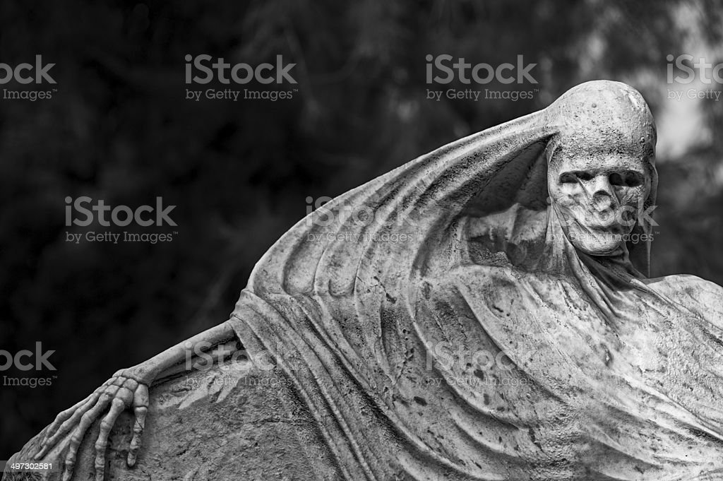Hanging out at the graveyard. royalty-free stock photo