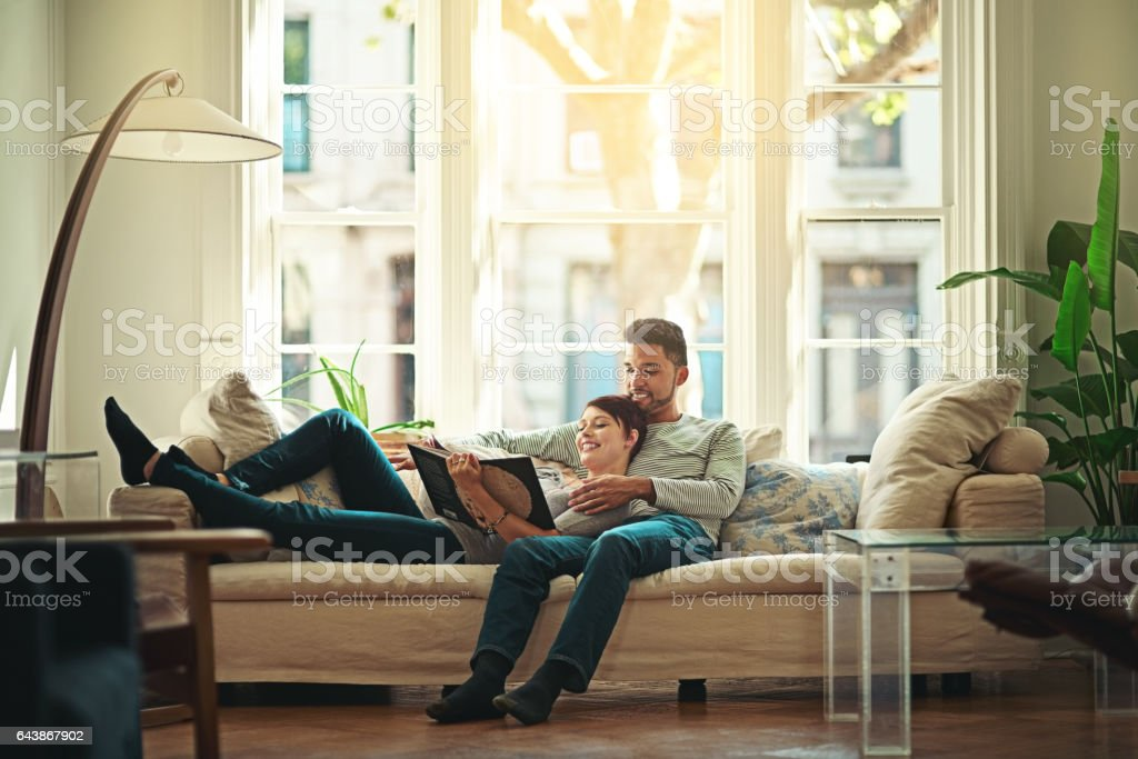 Hanging out with each other stock photo