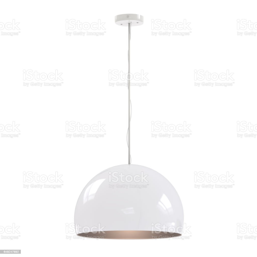 hanging pendant lamp stock photo