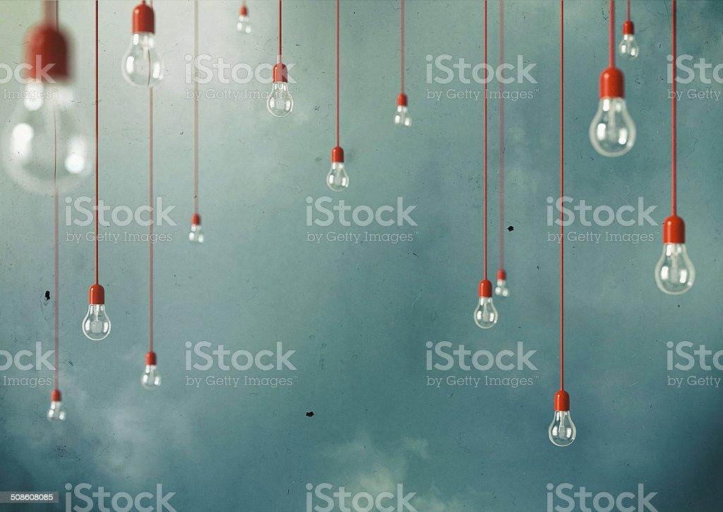 Hanging stock photo