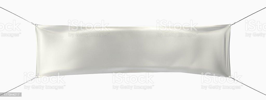 Hanging Street Banner royalty-free stock photo