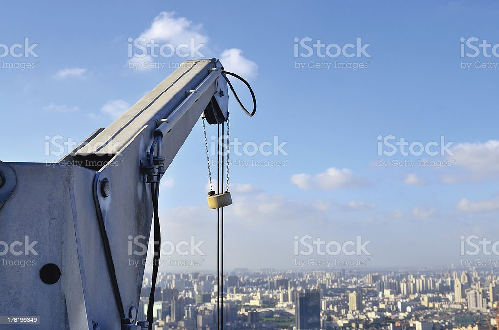 Hanging structure royalty-free stock photo