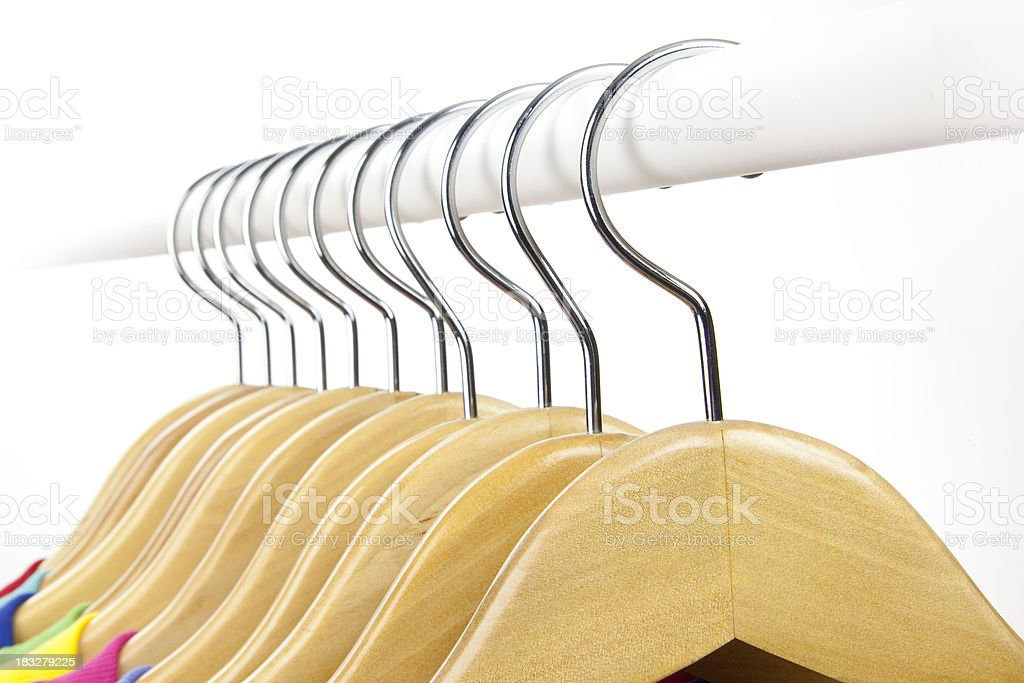 Hanging up Clothes royalty-free stock photo