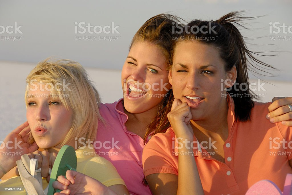 Hanging With Friends royalty-free stock photo
