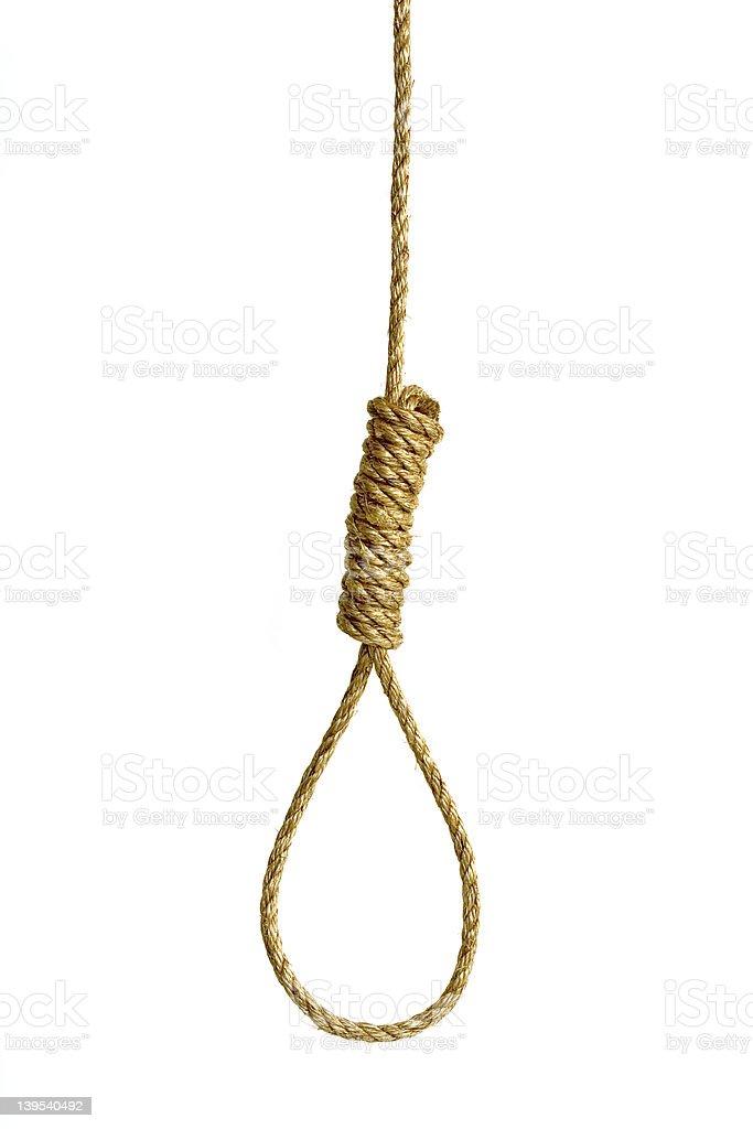 Hangman Noose stock photo