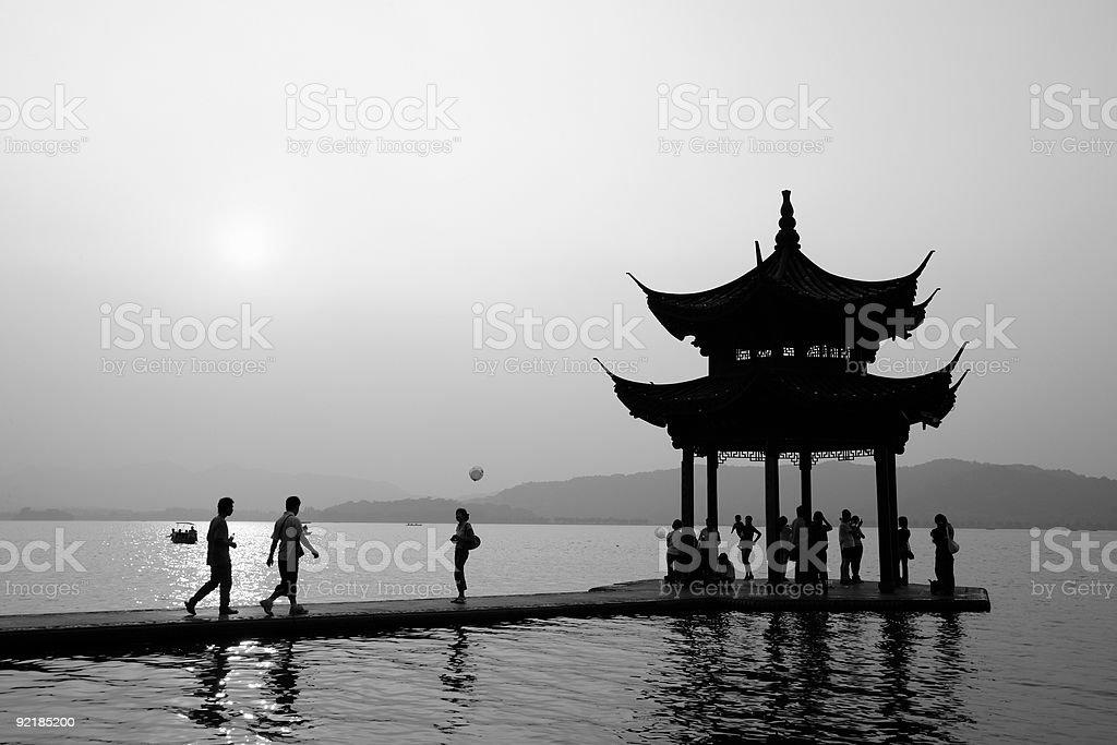 Hangzhou, China - West Lake royalty-free stock photo