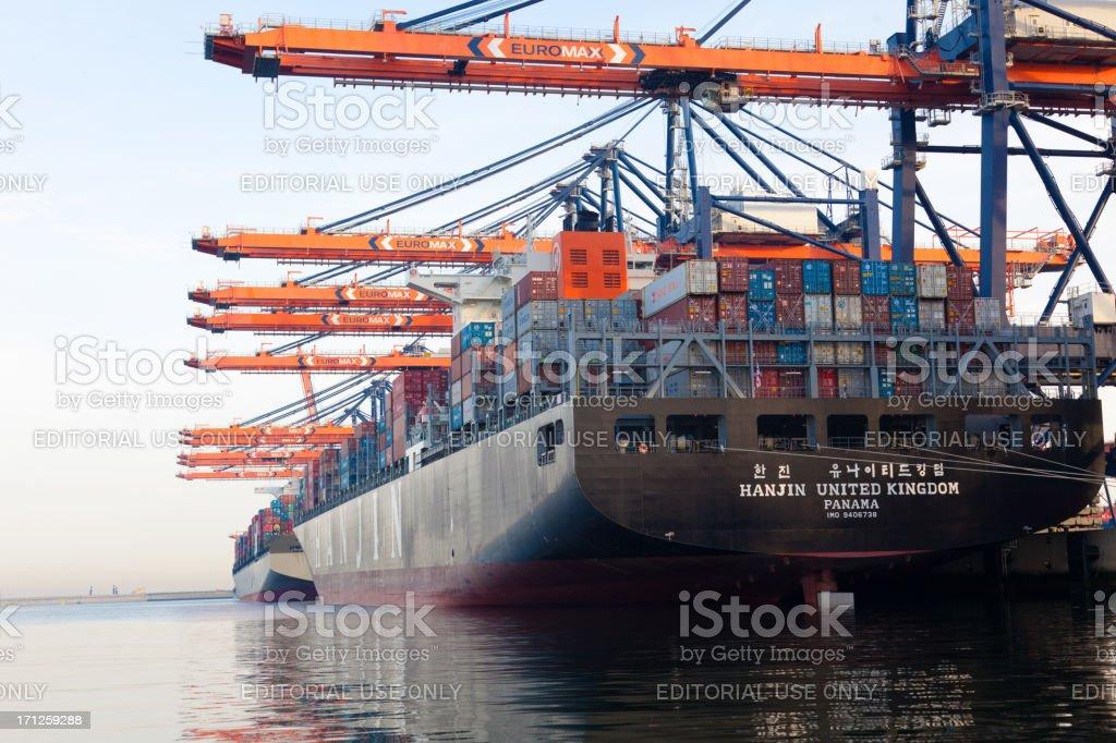 Hanjin United Kingdom stock photo
