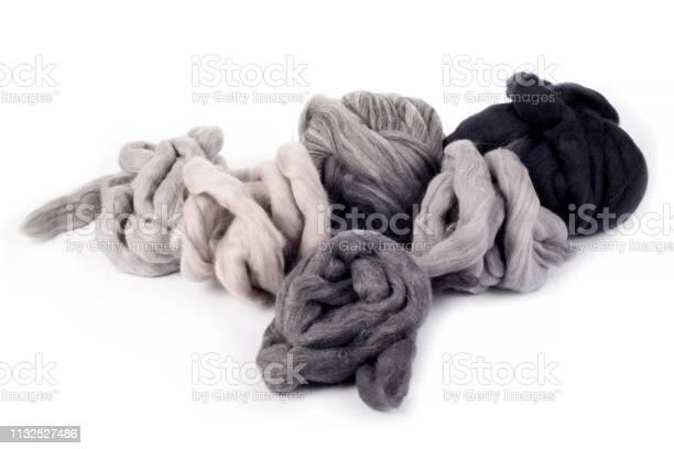 Hanks merino wool gray shades of color on a white background picture id1132527486?b=1&k=6&m=1132527486&s=612x612&h=zdn6cx32ubwe2ya z2jacno1oix6nahxyib5orhqqrw=