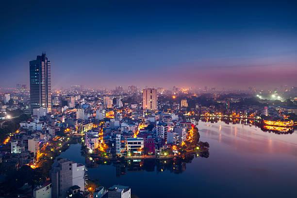하노이 도시 - 베트남 뉴스 사진 이미지
