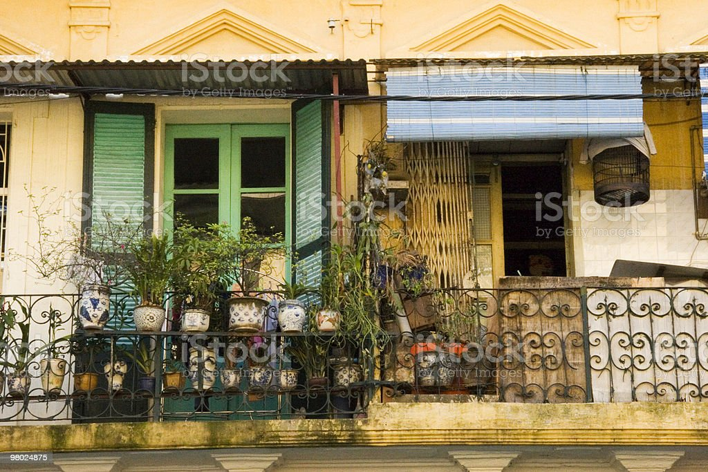 Hanoi Houses royalty-free stock photo