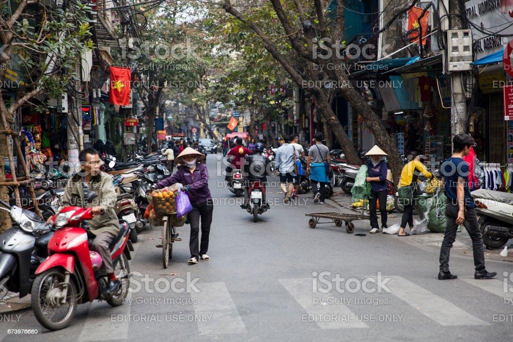 Hanoi, Vietnam royalty-free stock photo