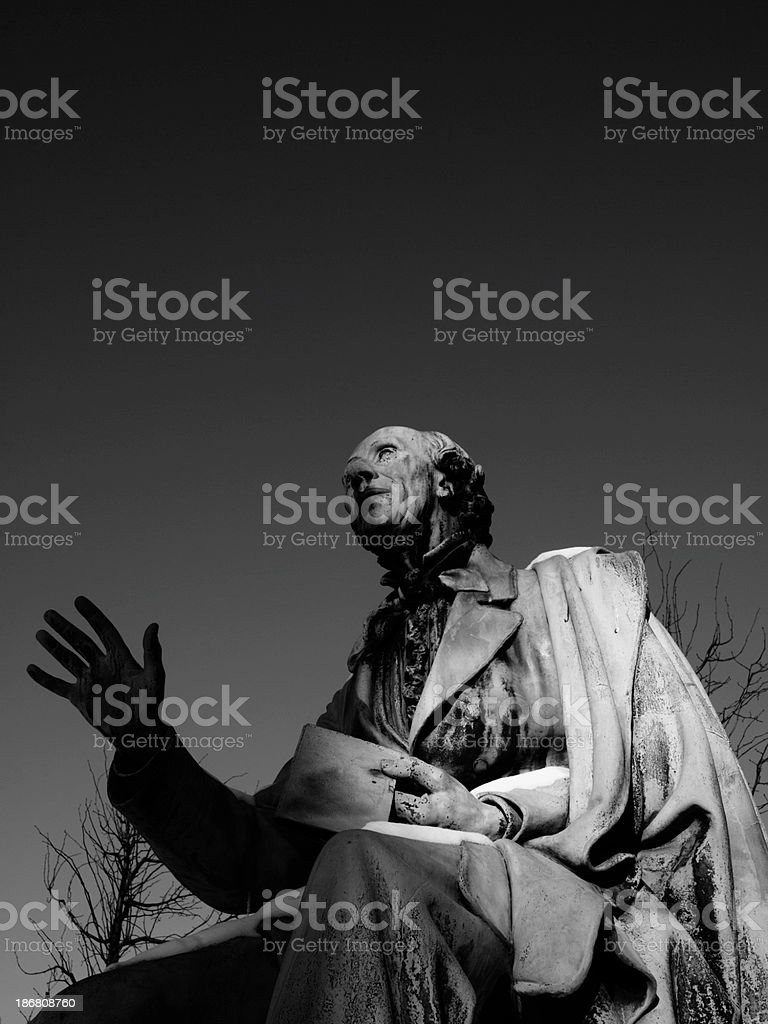 Hans Chrisitian Andersen royalty-free stock photo