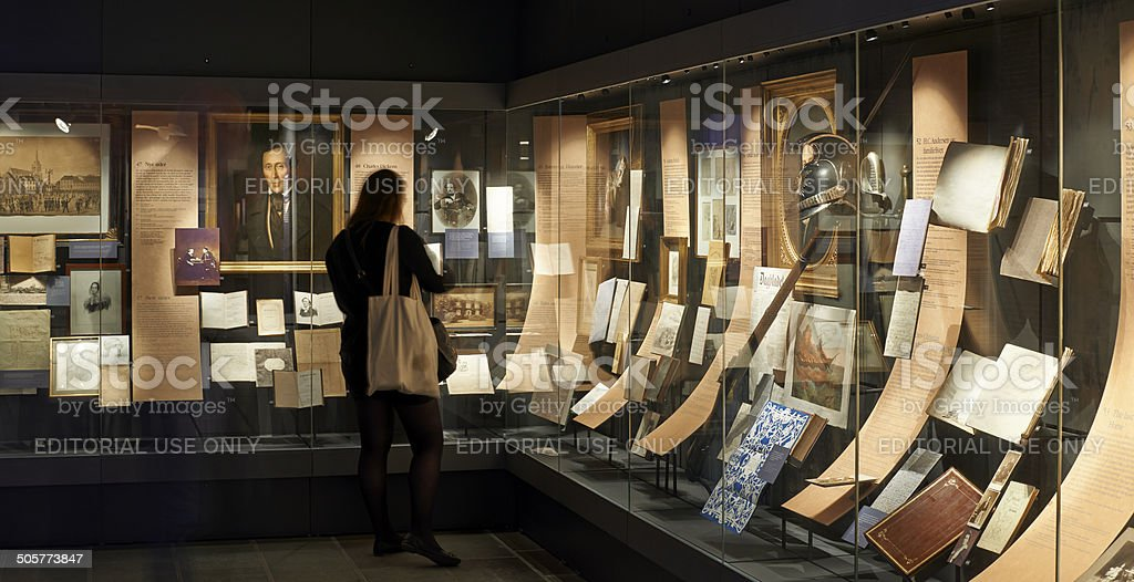 Hans Christian Andersen Museum stock photo
