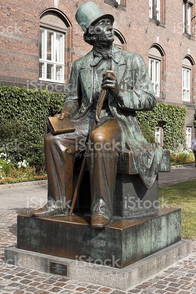 Hans Christian Andersen royalty-free stock photo