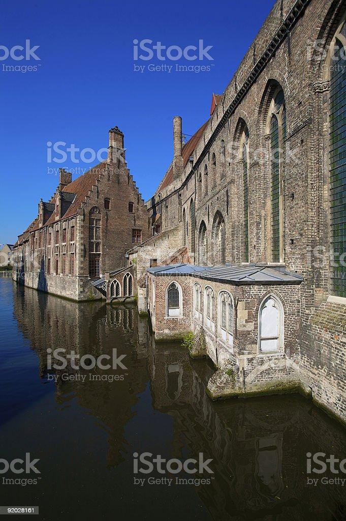 Hans Memling Museum in Bruges stock photo