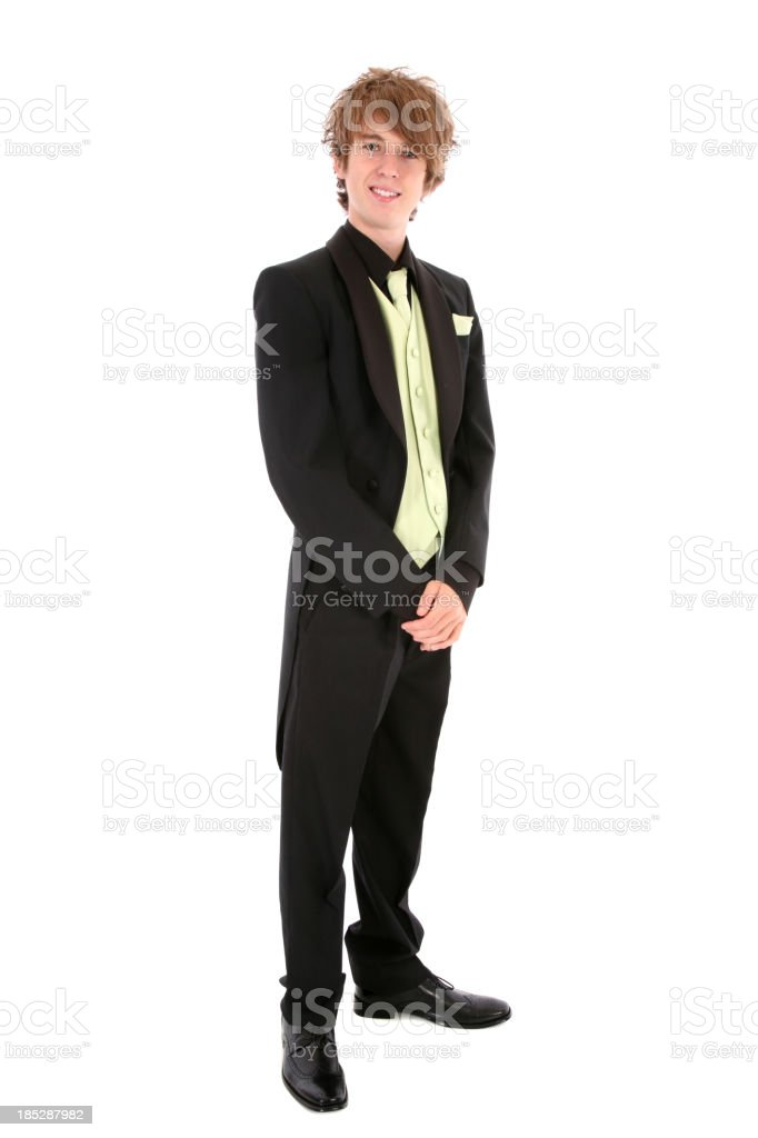Hansome Young Man stock photo