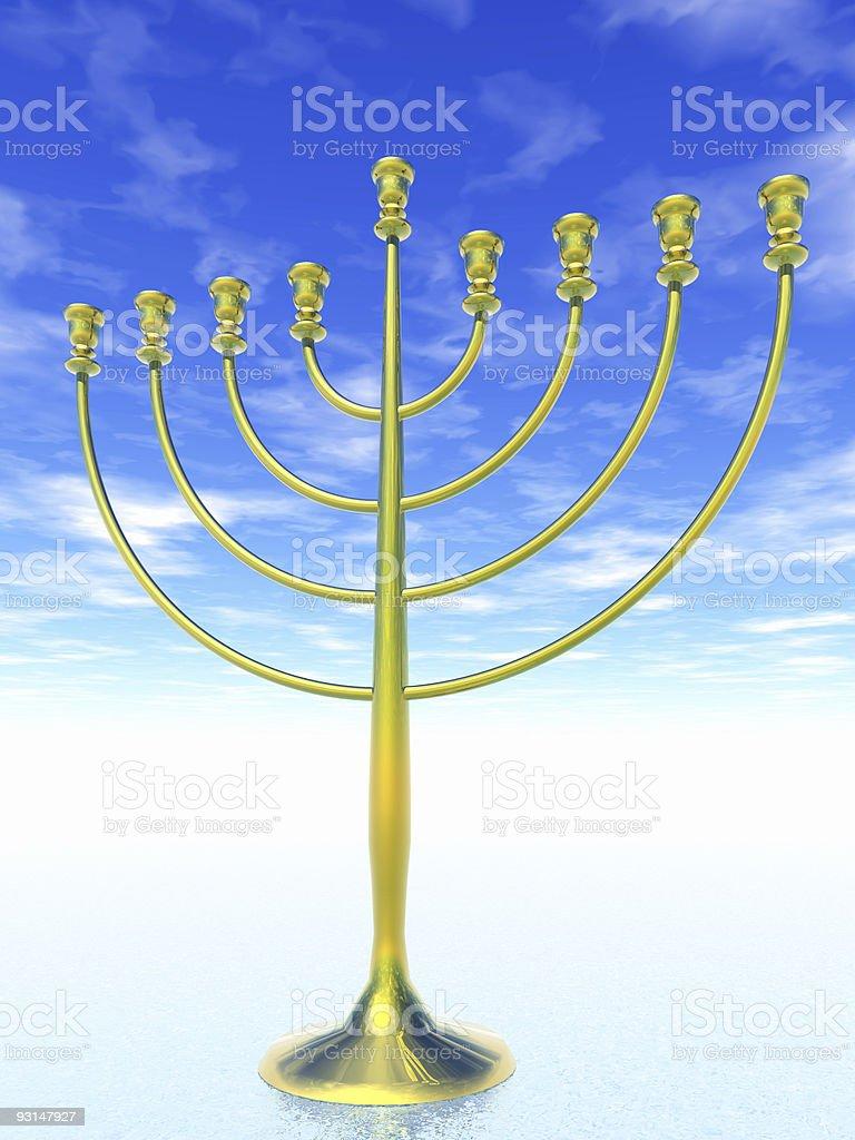 Hanukkah celebration. royalty-free stock photo