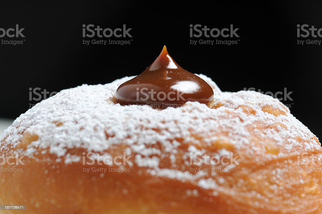 Hanukkah Donut royalty-free stock photo
