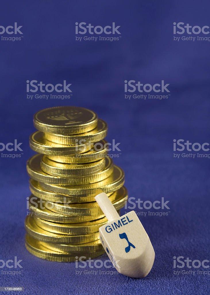 Hanukkah stock photo