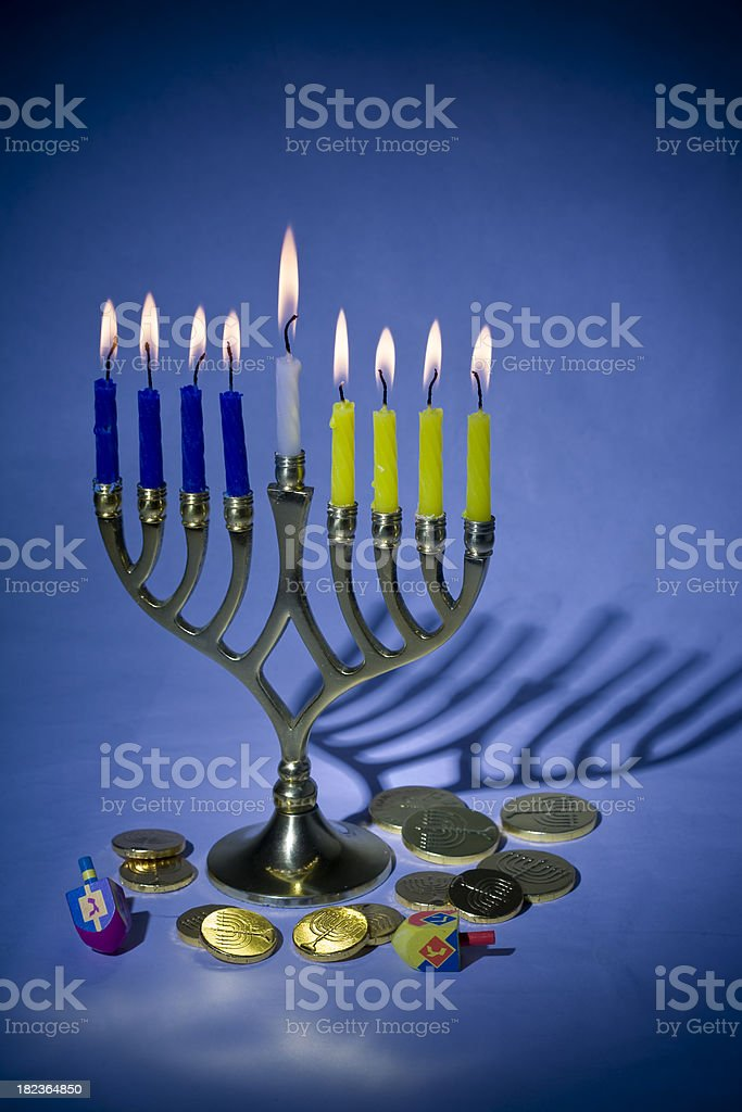 Hanukkah royalty-free stock photo