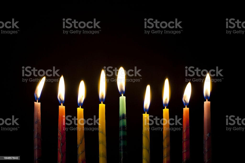 Hanukkah royalty-free stock photo