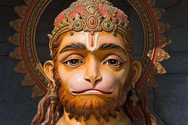 Hanuman statue in India Hanuman statue in Rishikesh, India hanuman stock pictures, royalty-free photos & images