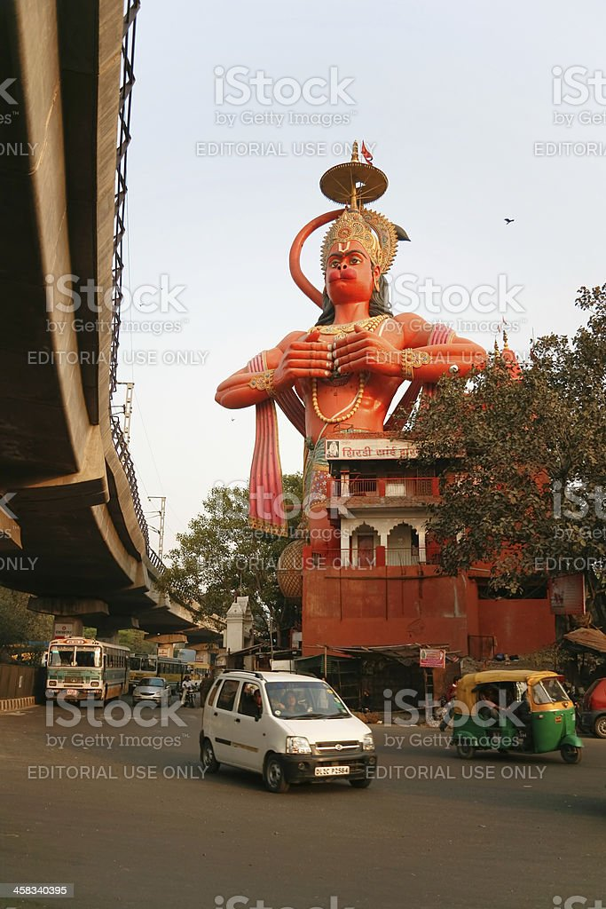 Hanuman temple exterior royalty-free stock photo