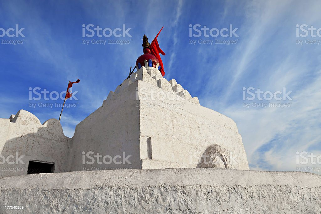Hanuman Temple, Hampi royalty-free stock photo