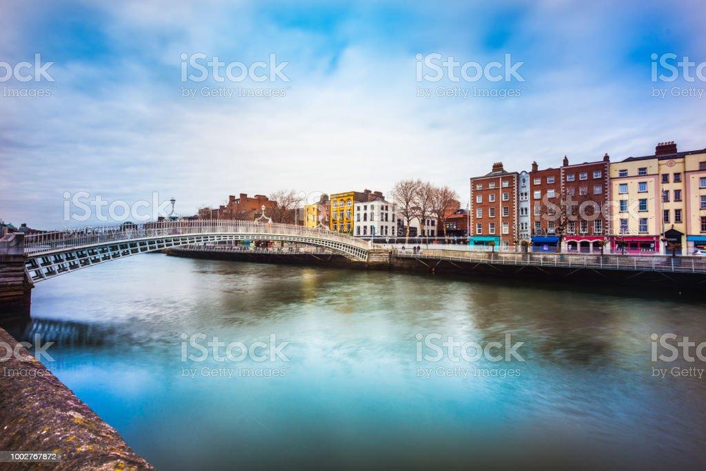 Half Penny Brücke Dublin – Foto