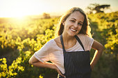 istock Happiest when I'm out on the farm 694409182