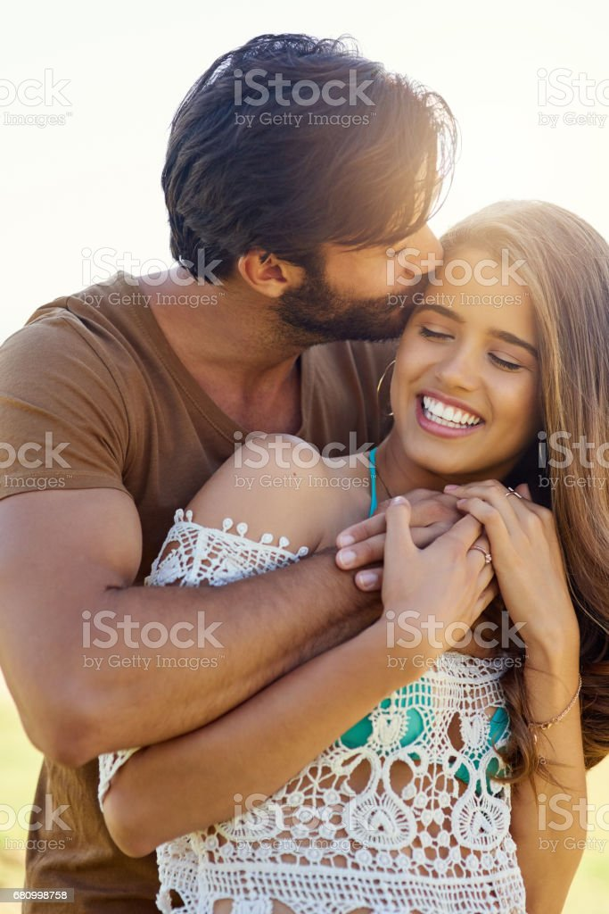 Happiest whenever they're together royalty-free stock photo