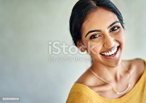 istock Happiness comes to her easily and effortlessly 638998808