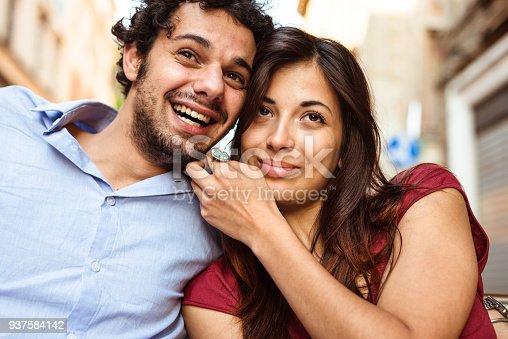istock happiness couple portrait 937584142
